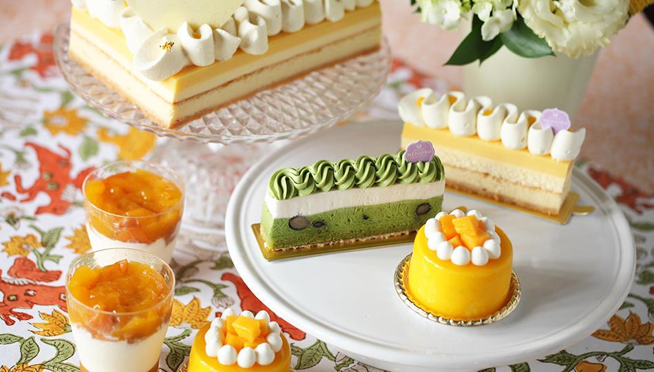 夏の新作ケーキのご案内