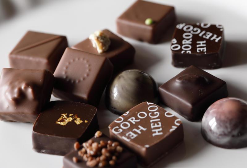 ボンボンショコラの販売開始のお知らせ